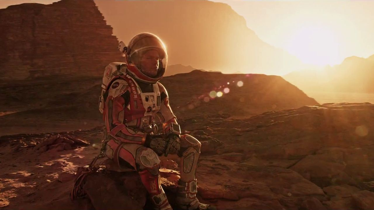 """""""Everywhere I go I'm the first"""" – The Martian"""