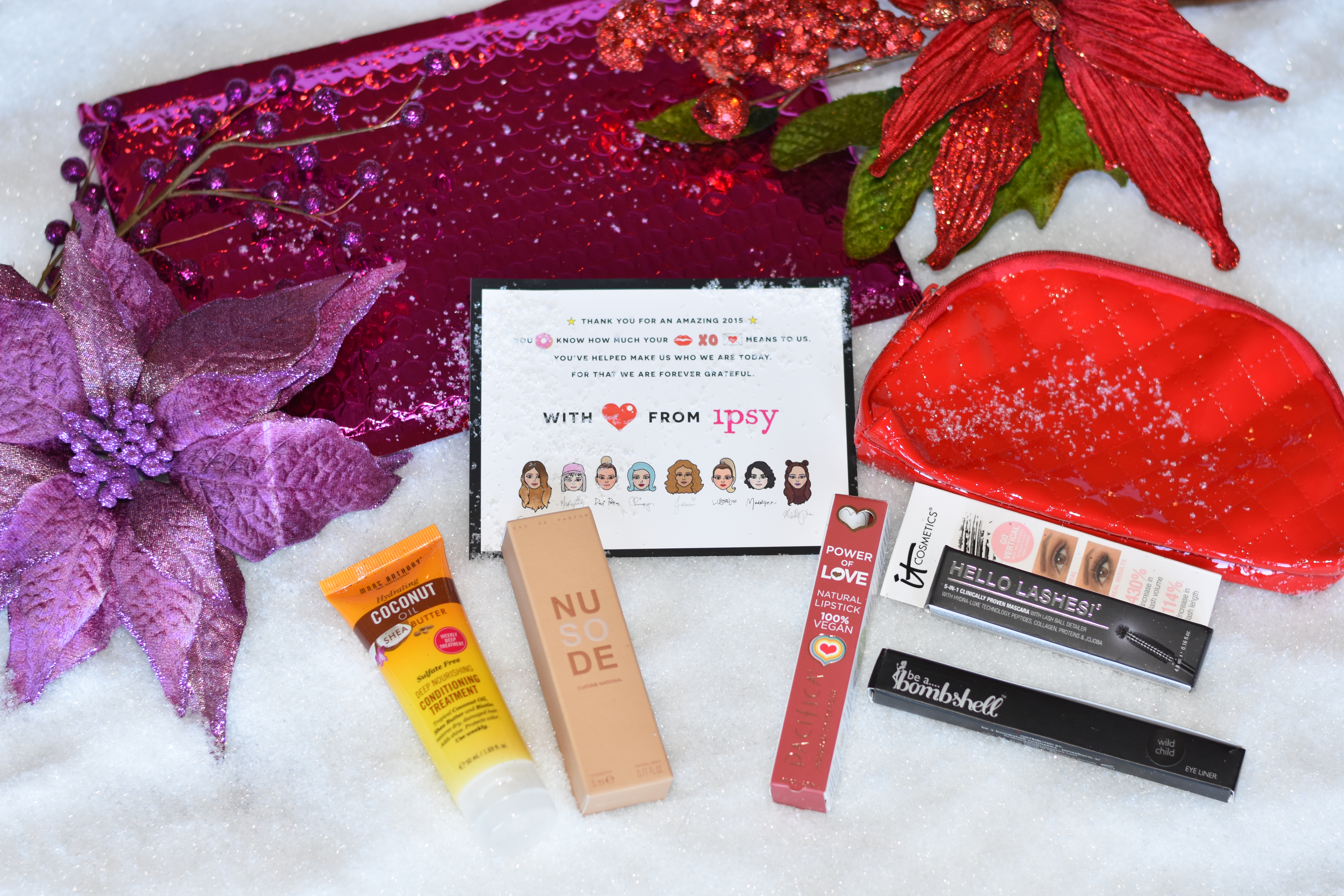 the Ipsy glam bag