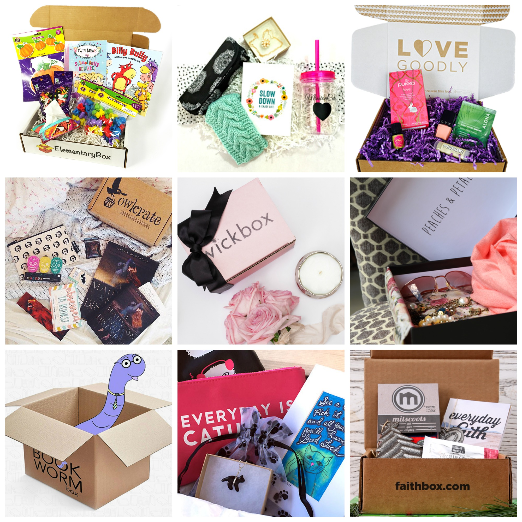 subscription boxes for everyone