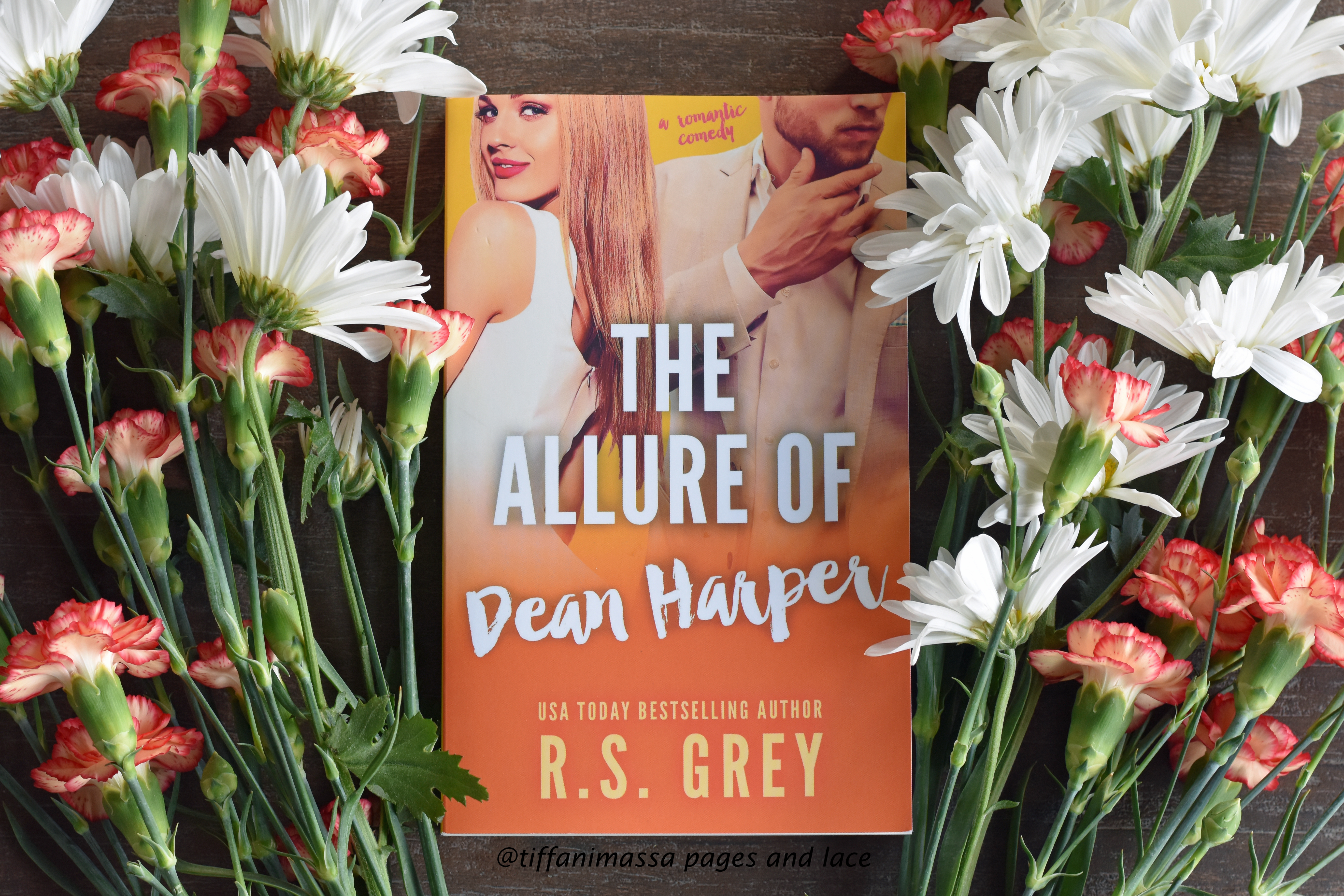 giveaway – Signed R.S. Grey The Allure of Dean Harper