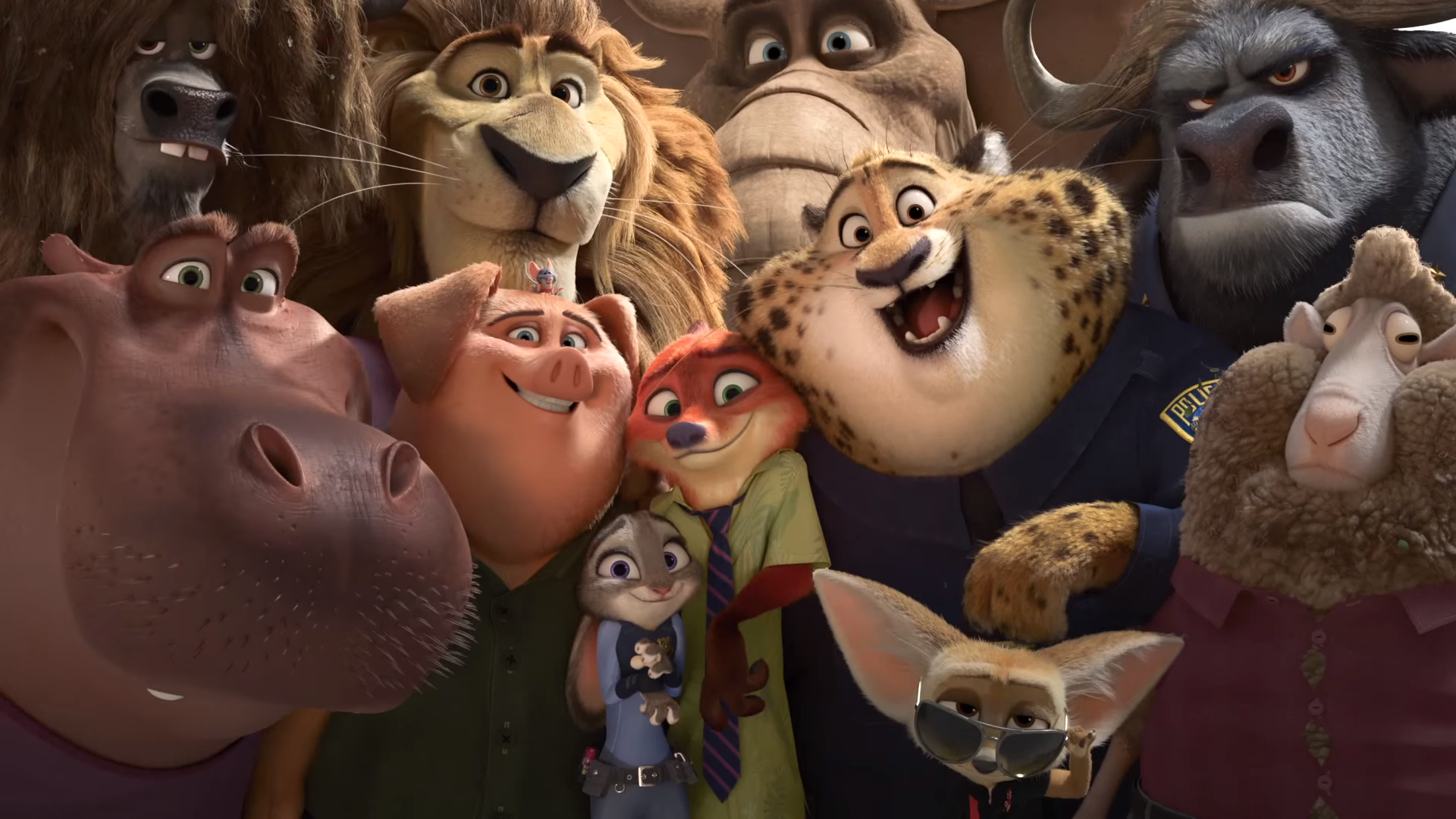 """We may be evolved but deep down we're still animals."" – Zootopia"