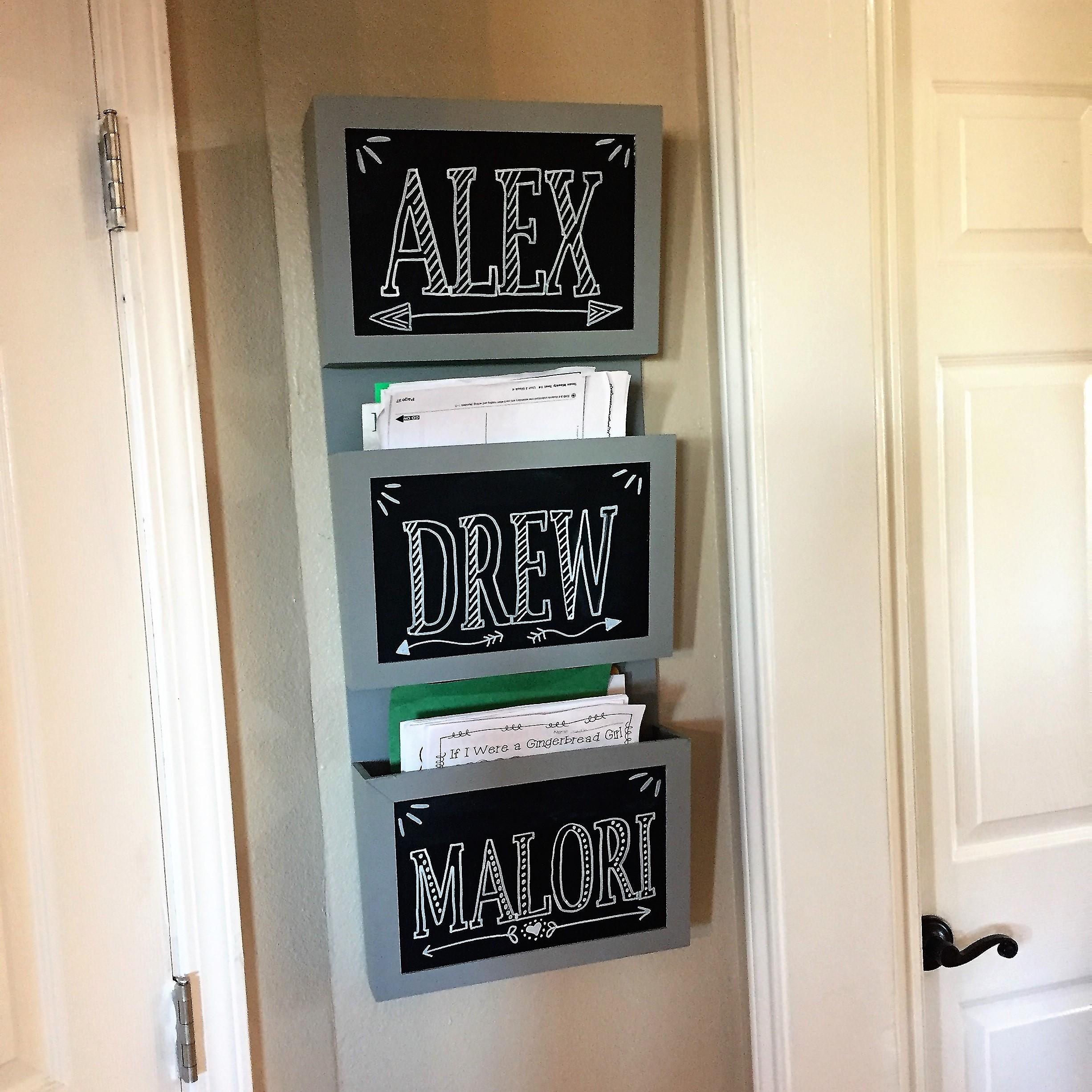 diy easy chalkboard letters