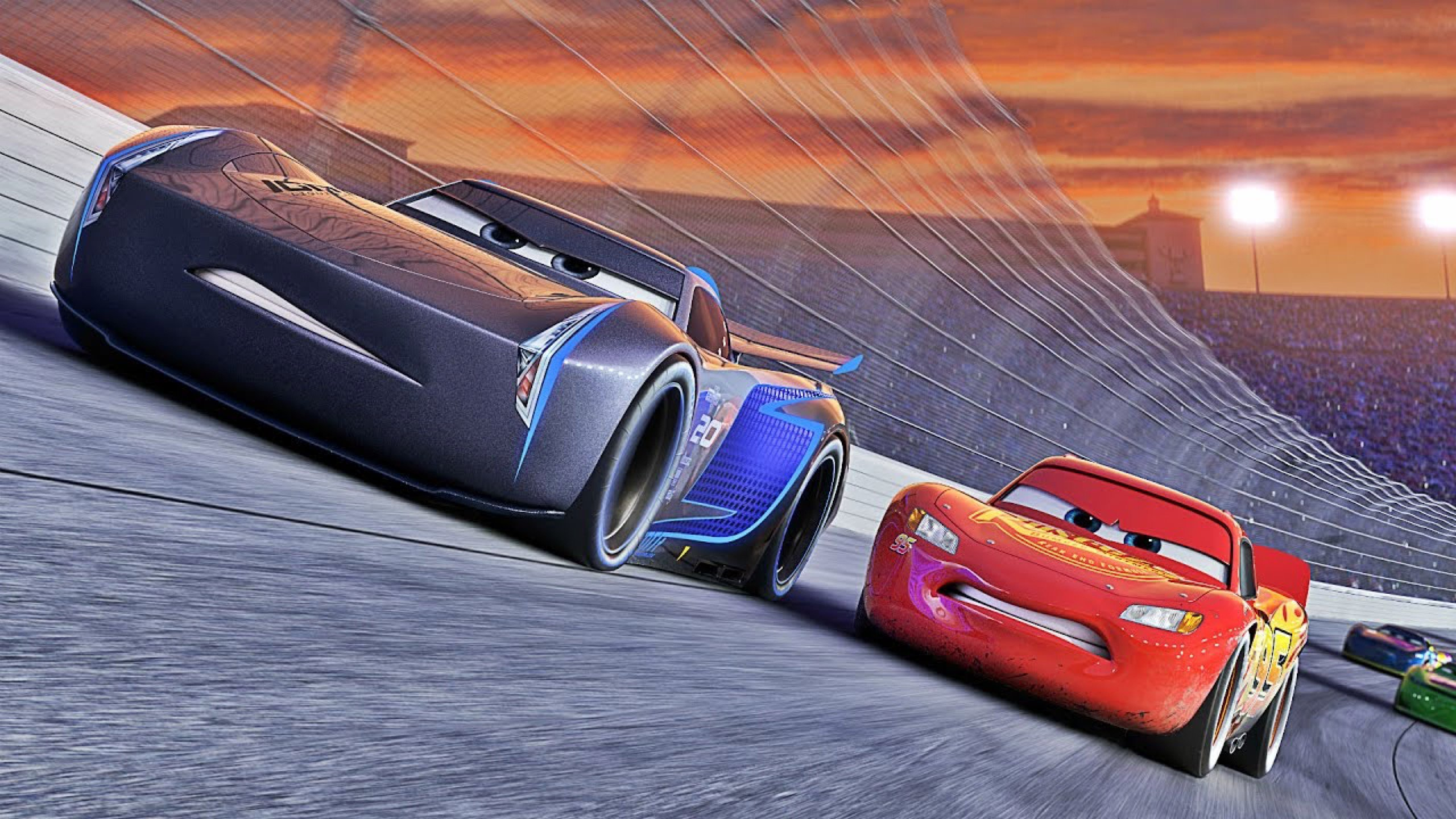 """""""The racing world is changing."""" – Cars 3"""