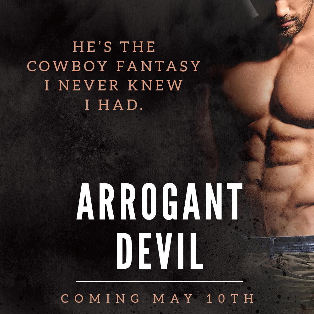 Are you ready for ARROGANT DEVIL? We are so excited to reveal the cover of this next release from R.S. Grey!