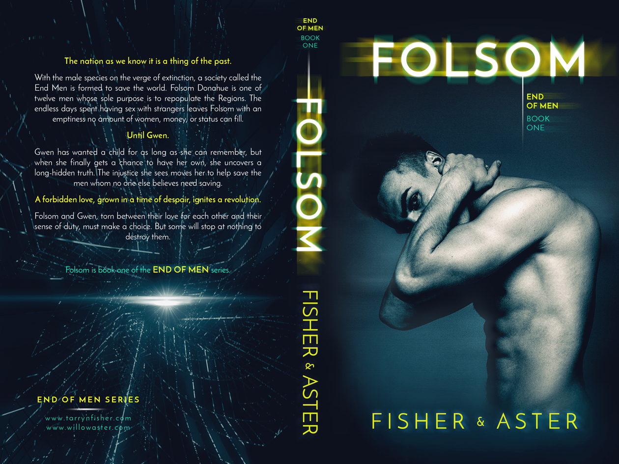 We are so excited to reveal the cover for Folsom by writing duo Tarryn Fisher and Willow Aster coming on May 29th!