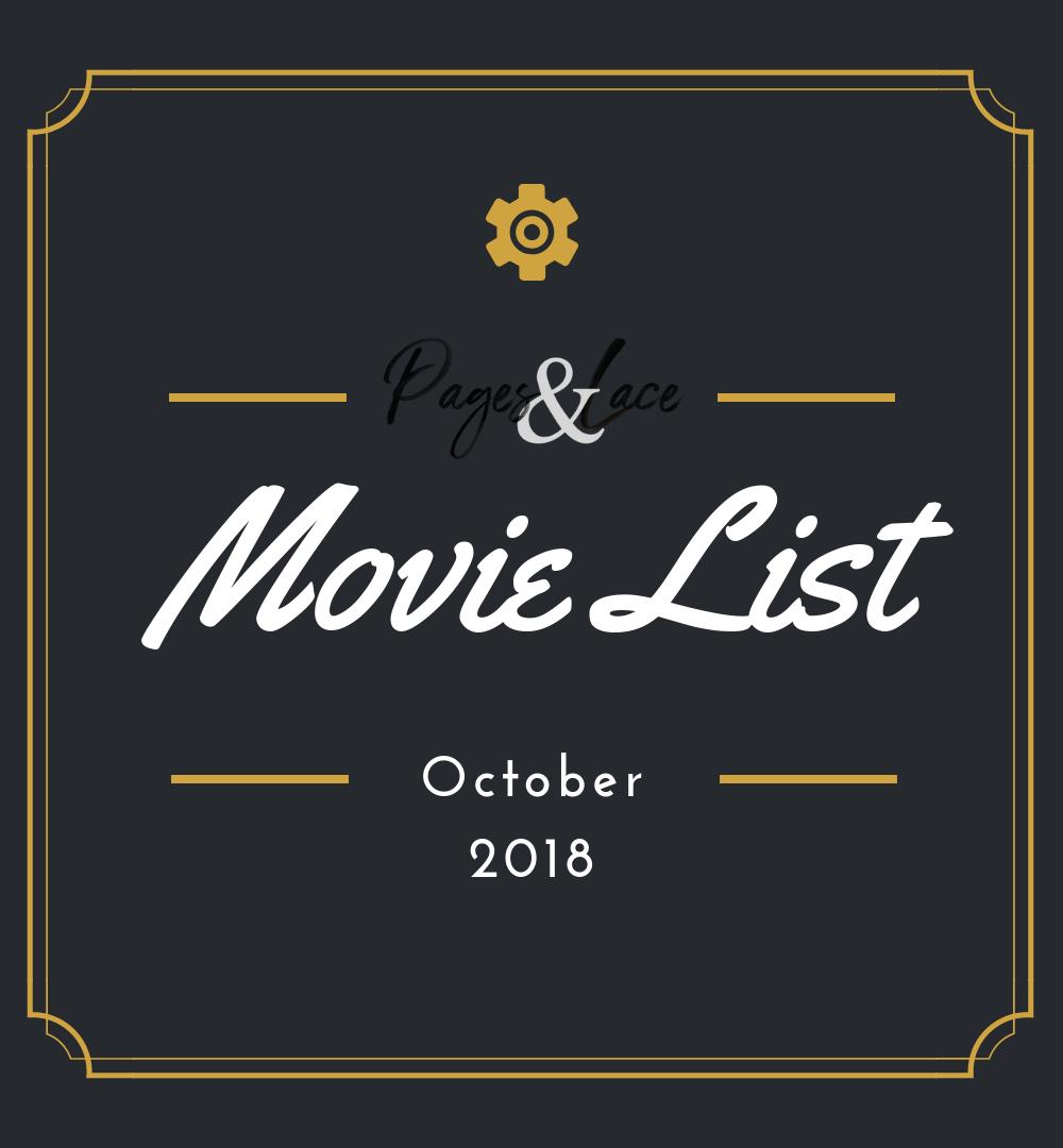 Movie List October 2018