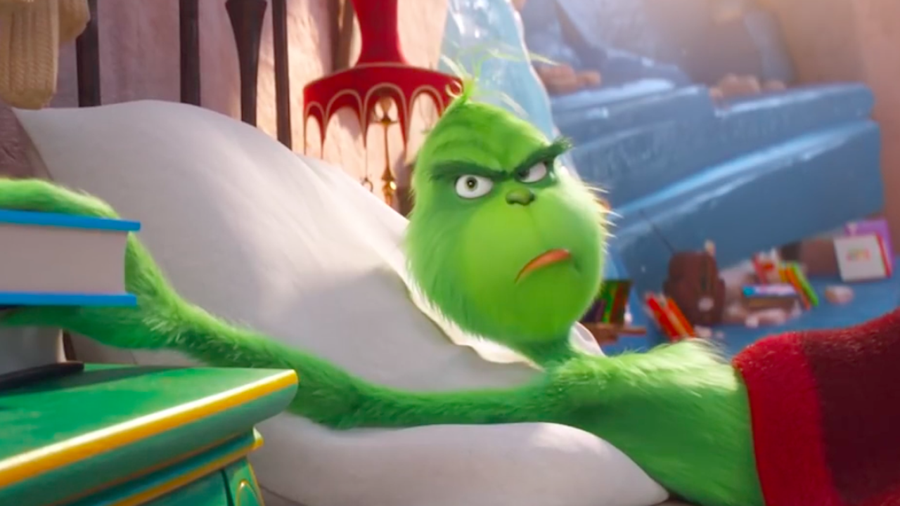 """Christmas already? Ugh!"" – Grinch Movie"