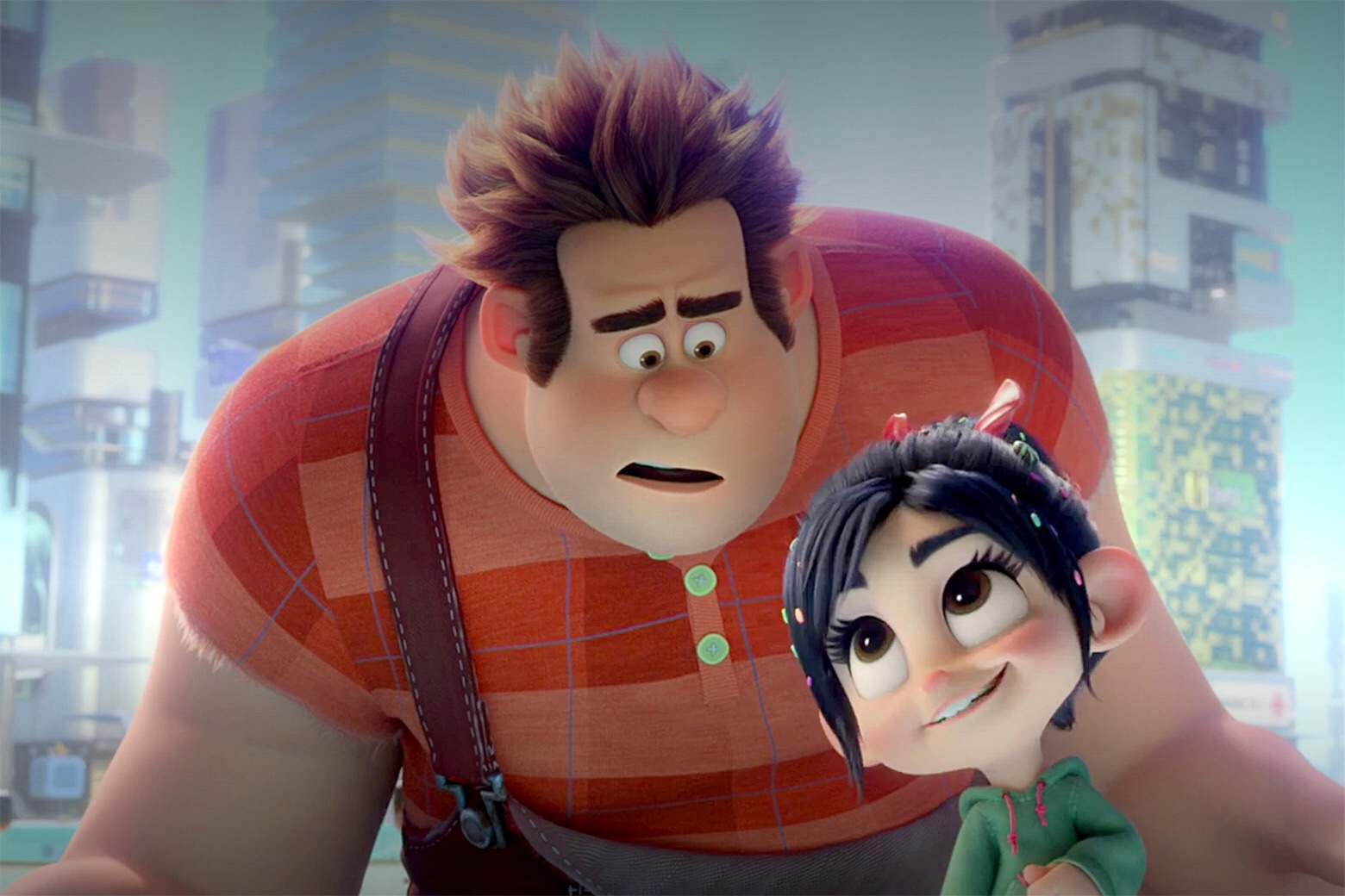 """The worlds waitin' for ya kid."" — Ralph Breaks the Internet"