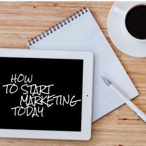 start marketing today