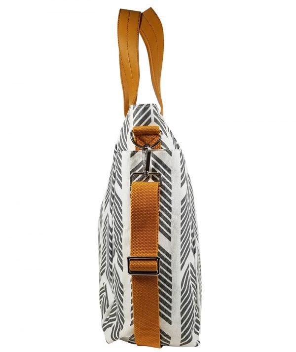 Gray Arrows Weekender Tote Bag