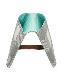 Juno Diaper Clutch Bag - Gray Buffalo Check