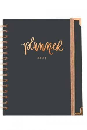 Grey and Rose Gold Planner 2020