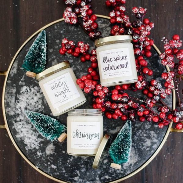 Merry + Bright Soy Candle