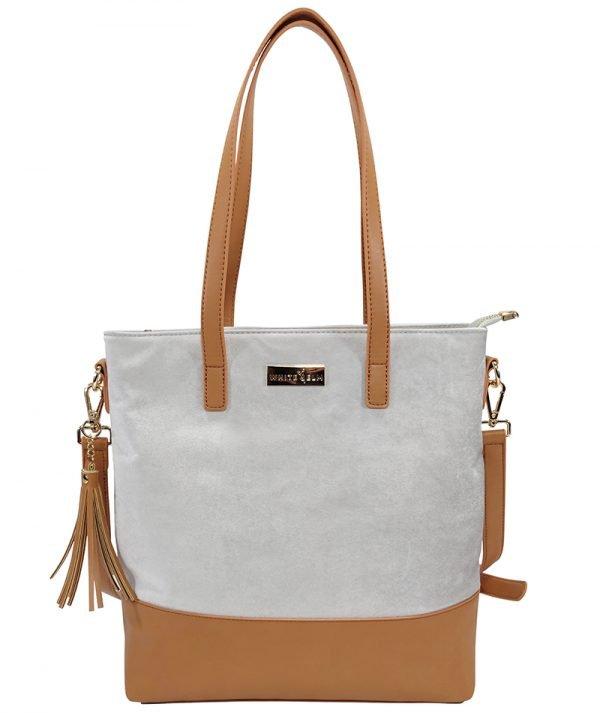 Carina Microsuede Bag