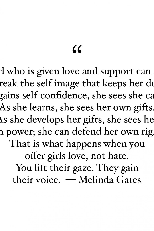 Melinda Gates Quotes