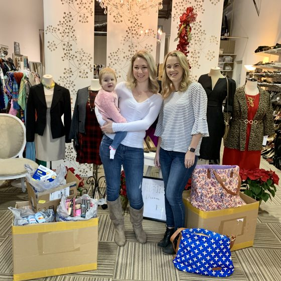 Coffee @ Tiffani's gives back to Dress for Success Austin