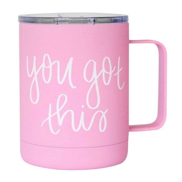YOU GOT THIS METAL COFFEE MUG
