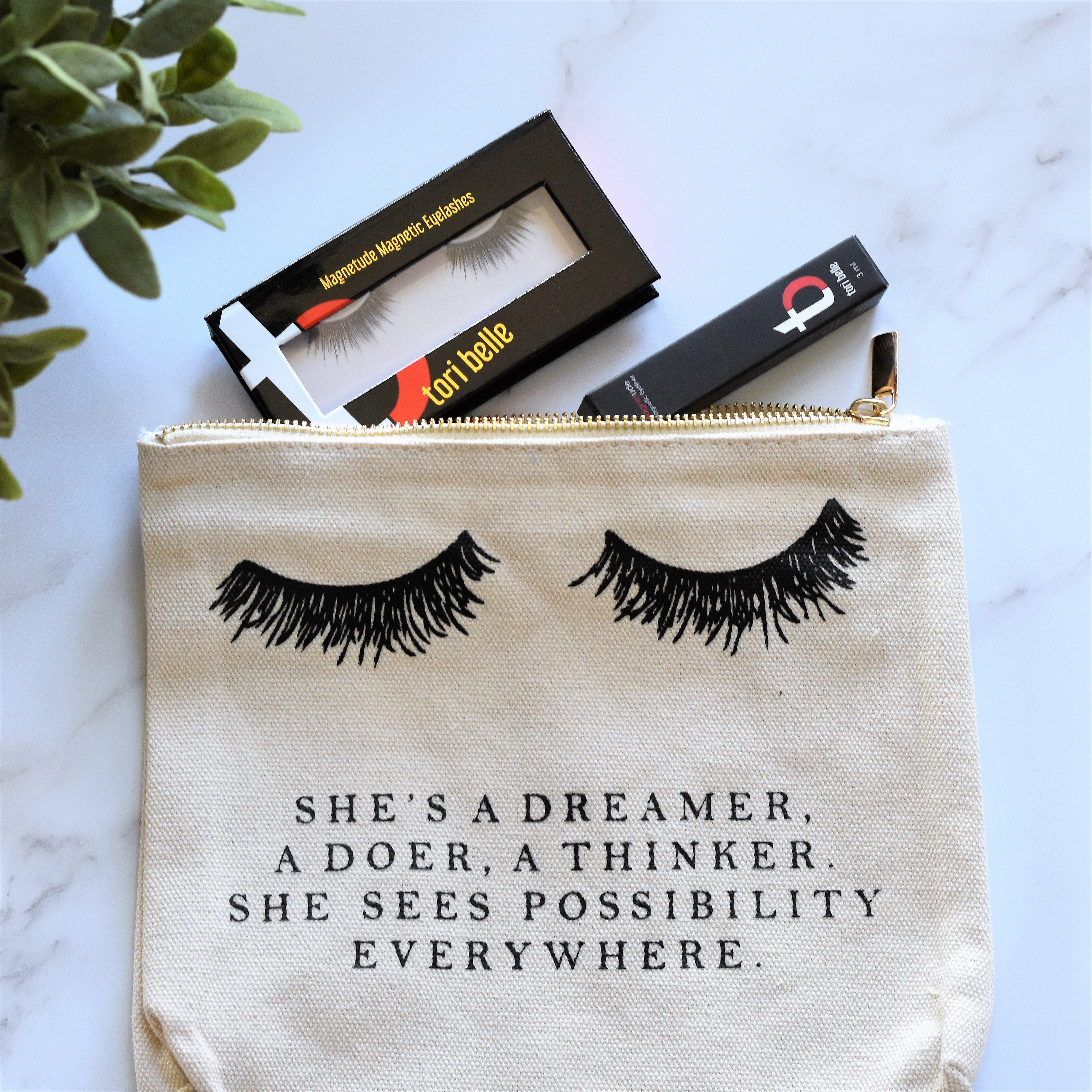 tori belle magnetic eyelashes