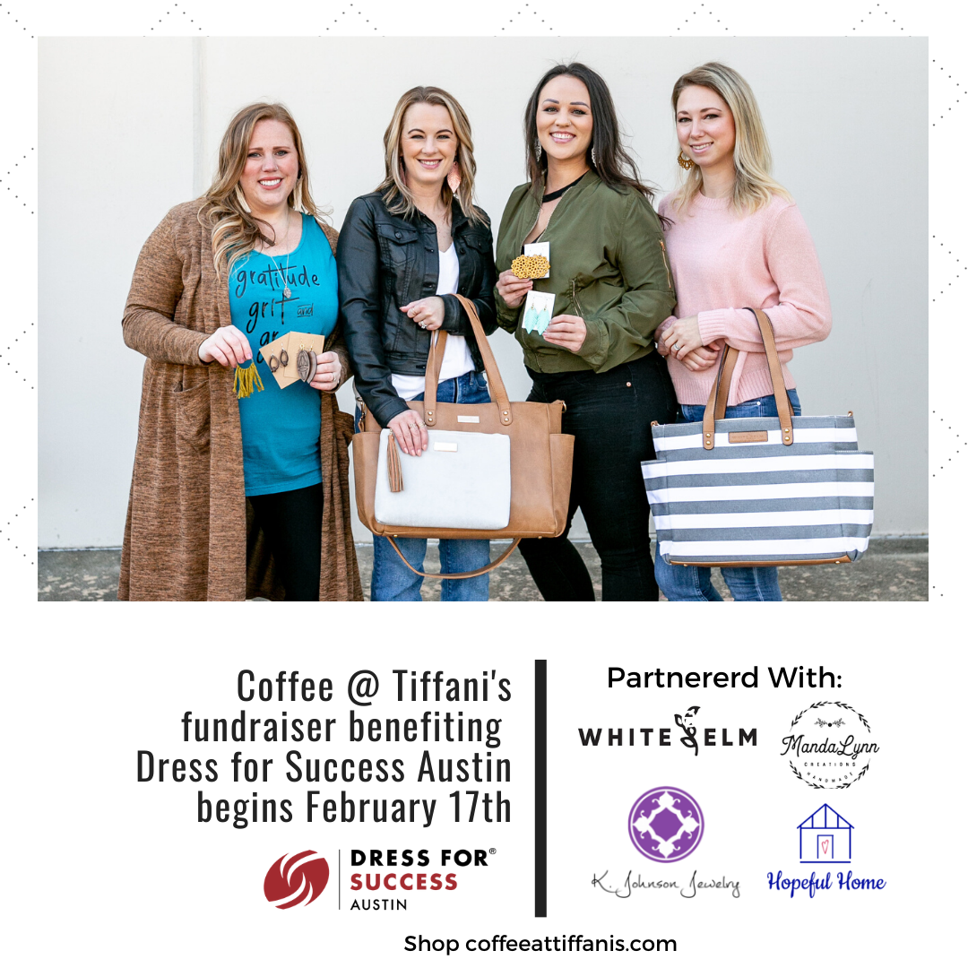 Coffee @ Tiffani's February Fundraiser is scheduled!