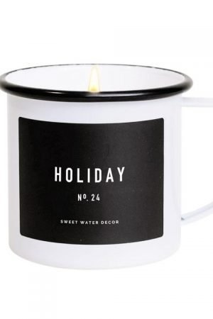 HOLIDAY SOY CANDLE | MUG CANDLE